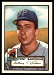 1952 Topps Reprints #332   Tony Bartirome Front Thumbnail