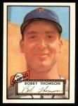 1952 Topps Reprints #313  Bobby Thomson  Front Thumbnail