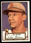 1952 Topps Reprints #58  Bob Mahoney  Front Thumbnail