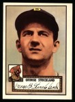 1952 Topps Reprints #197  George Strickland  Front Thumbnail