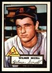 1952 Topps Reprints #334  Wilmer Mizell  Front Thumbnail