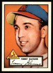 1952 Topps Reprints #56  Tommy Glaviano  Front Thumbnail