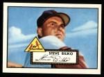1952 Topps Reprints #287   Steve Bilko Front Thumbnail