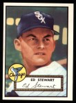 1952 Topps Reprints #279   Eddie Stewart Front Thumbnail