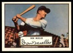 1952 Topps Reprints #52   Don Mueller Front Thumbnail