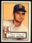 1952 Topps Reprints #180   Charlie Maxwell Front Thumbnail