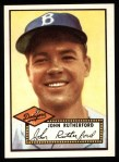1952 Topps Reprints #320   John Rutherford Front Thumbnail