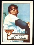 1952 Topps Reprints #157   Bobby Usher Front Thumbnail