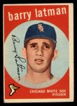 1959 Topps #477  Barry Latman  Front Thumbnail