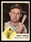 1963 Fleer #55  Smoky Burgess  Front Thumbnail