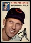 1954 Topps #125  Harry Perkowski  Front Thumbnail