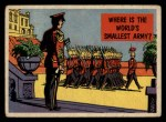 1957 Topps Isolation Booth #8   World's Smallest Army Front Thumbnail