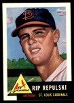 1991 Topps 1953 Archives #172  Rip Repulski  Front Thumbnail