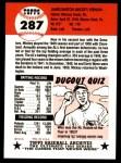 1991 Topps 1953 Archives #287  Mickey Vernon  Back Thumbnail