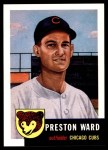 1991 Topps 1953 Archives #173  Preston Ward  Front Thumbnail