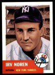 1991 Topps 1953 Archives #35  Irv Noren  Front Thumbnail