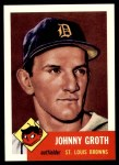 1991 Topps 1953 Archives #36  Johnny Groth  Front Thumbnail