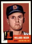 1991 Topps 1953 Archives #30  Willard Nixon  Front Thumbnail