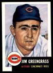 1991 Topps 1953 Archives #209  Jim Greengrass  Front Thumbnail