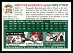 1994 Topps 1954 Archives #138   Bob Borkowski Back Thumbnail