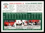 1994 Topps 1954 Archives #30  Eddie Mathews  Back Thumbnail
