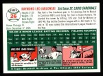 1994 Topps 1954 Archives #26  Ray Jablonski  Back Thumbnail