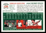 1994 Topps 1954 Archives #136  Connie Ryan  Back Thumbnail