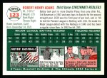 1994 Topps 1954 Archives #123  Bobby Adams  Back Thumbnail