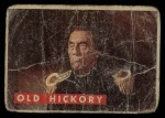 1956 Topps Davy Crockett #5 GRN  Old Hickory  Front Thumbnail
