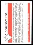 1979 TCMA The 50's #43   -  Duke Snider / Gil Hodges / Roy Campanella / Carl Furillo Dodger Power Back Thumbnail