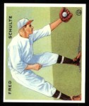 1933 Goudey Reprints #112  Fred Schulte  Front Thumbnail