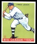 1933 Goudey Reprints #179  Fred Leach  Front Thumbnail