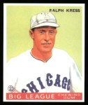 1933 Goudey Reprints #33  Ralph Kress  Front Thumbnail