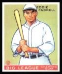 1933 Goudey Reprints #148  Eddie Farrell  Front Thumbnail