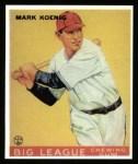 1933 Goudey Reprints #39  Mark Koenig  Front Thumbnail