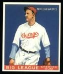 1933 Goudey Reprints #64  Burleigh Grimes  Front Thumbnail