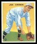 1933 Goudey Reprints #109  Joe Cronin  Front Thumbnail