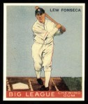 1933 Goudey Reprints #43  Lew Fonseca  Front Thumbnail