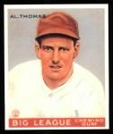 1933 Goudey Reprints #169  Al Thomas  Front Thumbnail