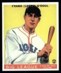 1933 Goudey Reprints #58  Lefty O'Doul  Front Thumbnail