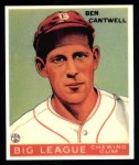 1933 Goudey Reprints #139  Ben Cantwell  Front Thumbnail
