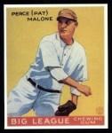 1933 Goudey Reprints #55  Pat Malone  Front Thumbnail