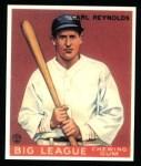 1933 Goudey Reprints #120  Carl Reynolds  Front Thumbnail