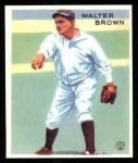 1933 Goudey Reprints #192  Walter Brown  Front Thumbnail