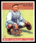 1933 Goudey Reprints #152  Zack Taylor  Front Thumbnail