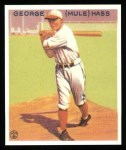 1933 Goudey Reprints #219  Mule Haas  Front Thumbnail