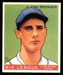 1933 Goudey Reprints #84  Glenn Spencer  Front Thumbnail