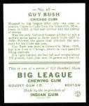 1933 Goudey Reprints #67  Guy Bush  Back Thumbnail