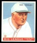 1933 Goudey Reprints #175  Dan Howley  Front Thumbnail