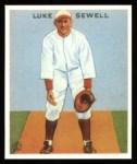 1933 Goudey Reprints #114  Luke Sewell  Front Thumbnail